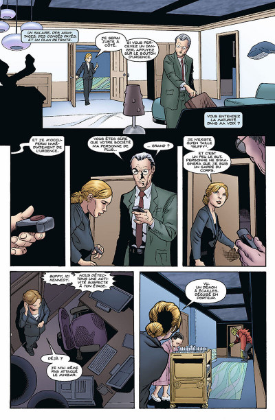 Page 8 Buffy contre les vampires - saison 9 tome 3 - protection