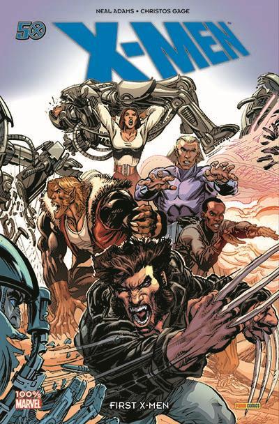 Couverture X-Men ; first X-men
