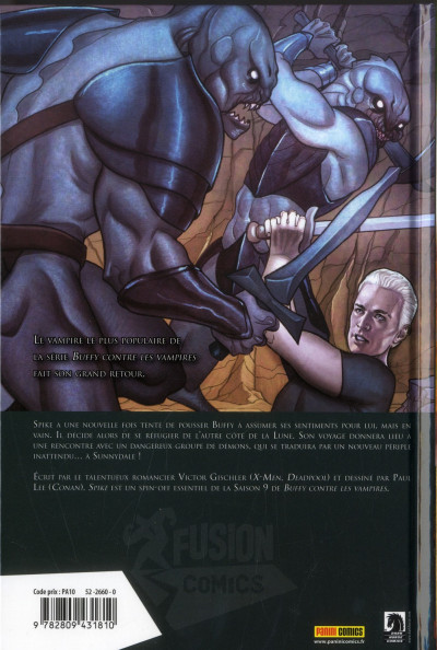 Dos Buffy contre les vampires - saison 9 HORS-SERIE ; Spike