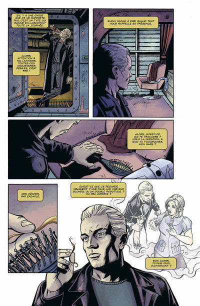 Page 8 Buffy contre les vampires - saison 9 HORS-SERIE ; Spike