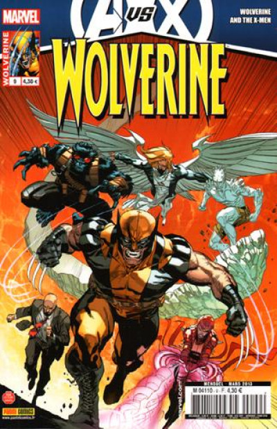 Couverture Wolverine 2012 tome 9