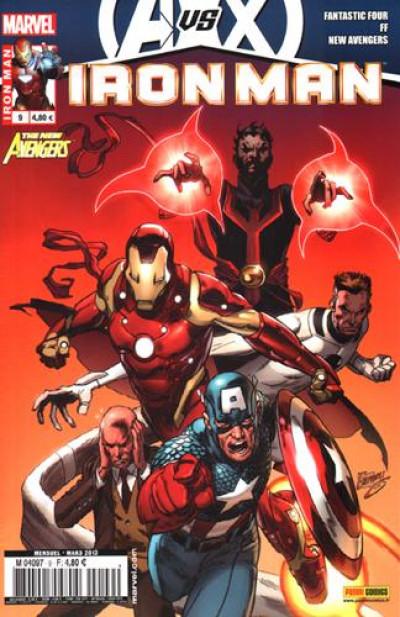 Couverture Iron man 2012 tome 9  avengers vs x-men