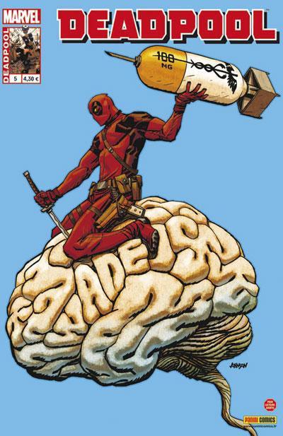 Couverture Deadpool 2012 tome 5