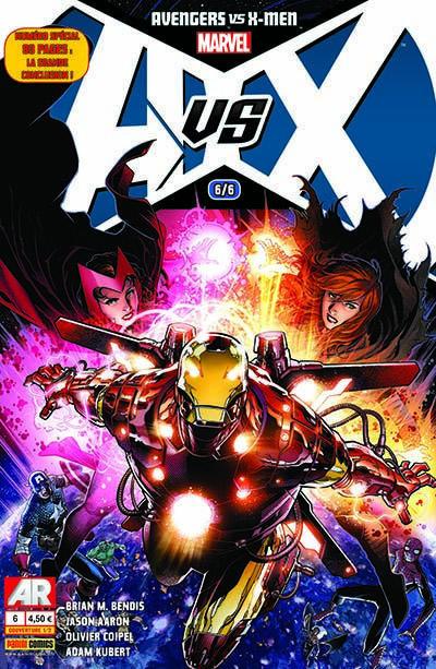 Couverture Avengers Vs X-Men tome 6 - cover 1/2