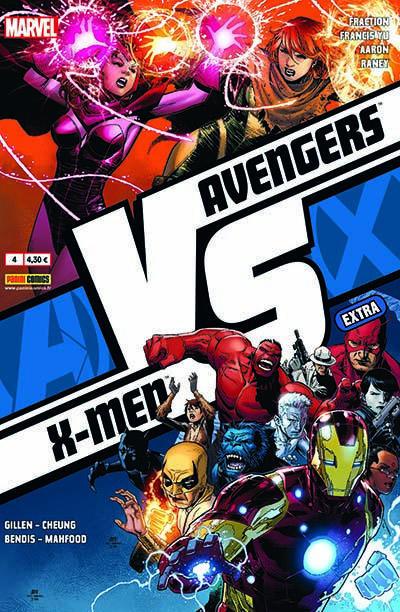 Couverture Avengers Vs X-Men Extra tome 4