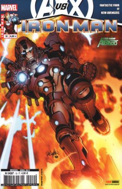 Couverture Iron man 2012 tome 10 -  avengers vs x-men