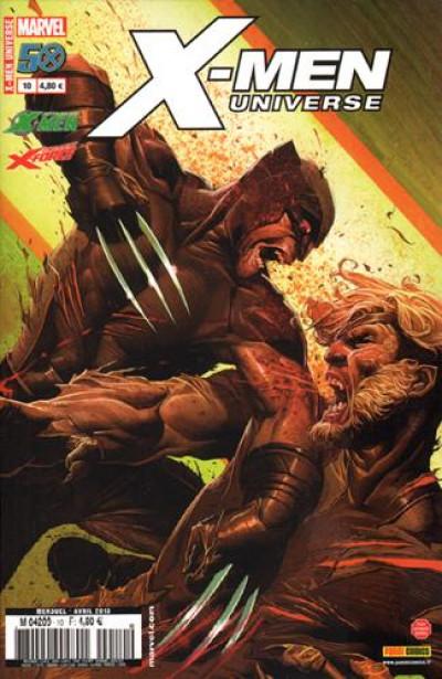 Couverture X-men universe 2012 tome 10