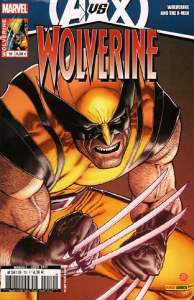 Couverture Wolverine N.2012/10 ; Avengers vs X-Men