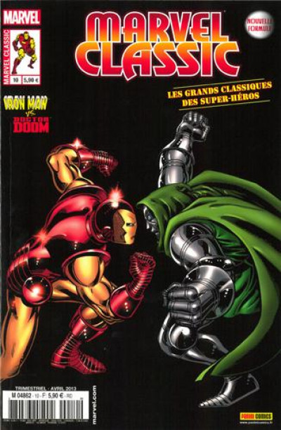 Couverture Marvel Classic tome 10