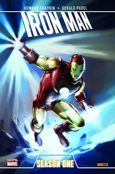 Couverture Iron man - season one