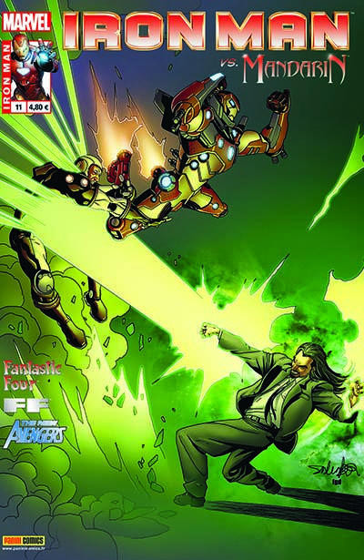 Couverture Iron Man 2012 tome 11