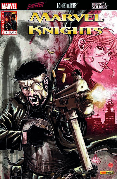 Couverture Marvel Knights tome 8