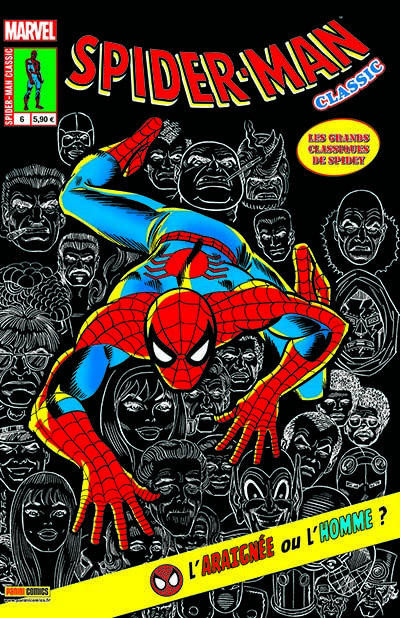 Couverture Spider-man classic tome 6