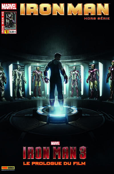 Couverture Iron man 2012 HS tome 1