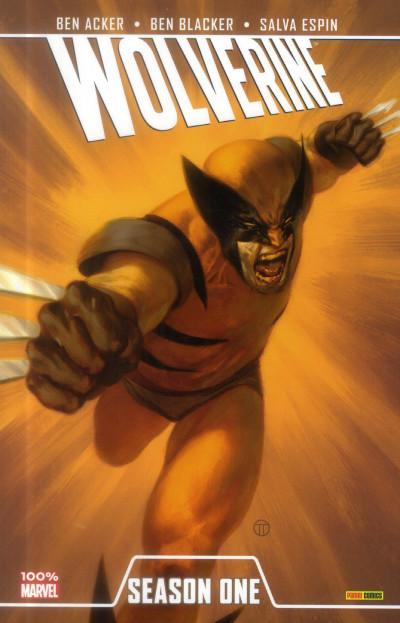 Couverture Wolverine Season one