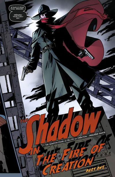 Page 0 the shadow tome 1 - le feu de la création