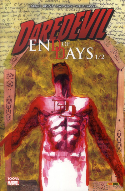 Couverture Daredevil - end of days tome 1