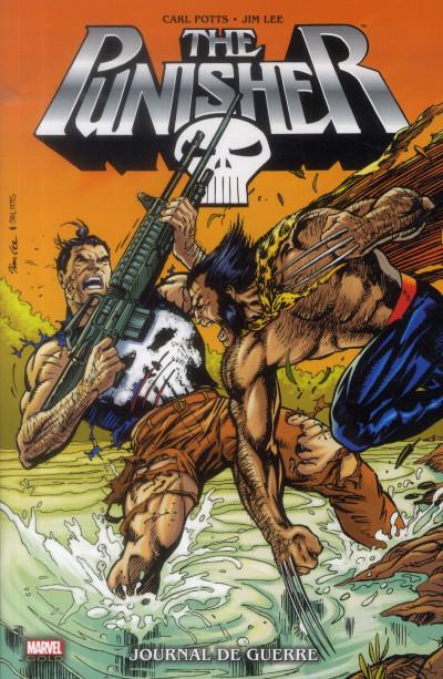 Couverture the Punisher ; journal de guerre
