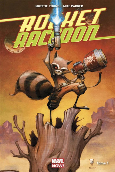 Couverture Rocket Raccoon tome 1