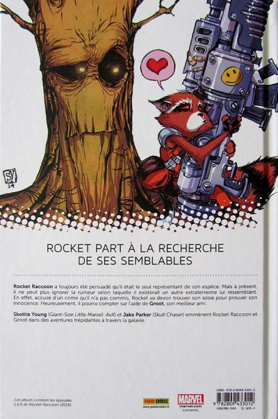 Dos Rocket Raccoon tome 1