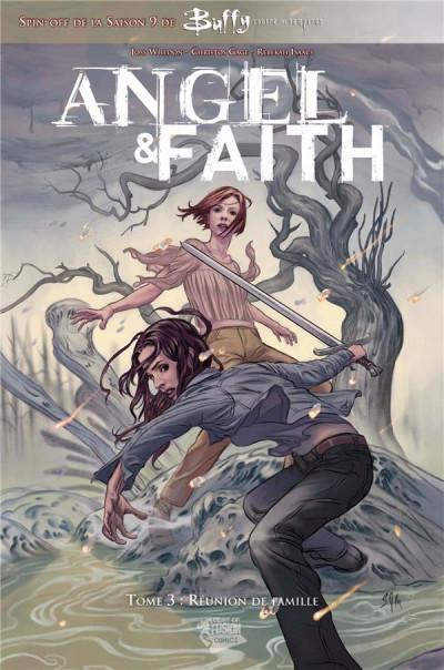 Couverture Angel et Faith tome 3