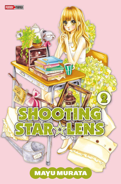 Couverture shooting star lens tome 2