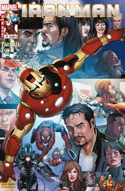 Couverture Iron Man 2012 tome 12