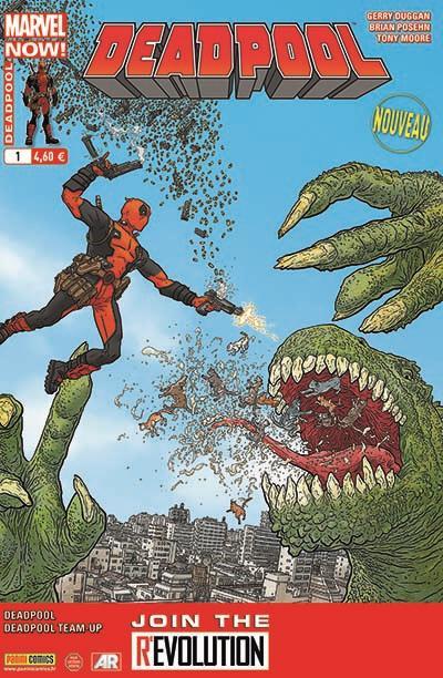 Couverture Deadpool 2013 tome 1