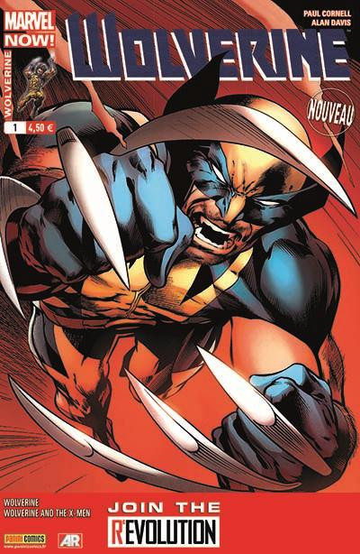 Couverture Wolverine 2013 tome 1