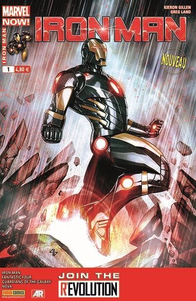 Couverture Iron man 2013 tome 1