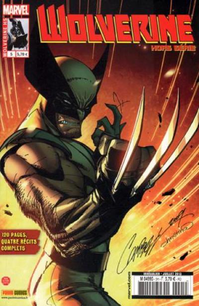 Couverture Wolverine HS tome 5
