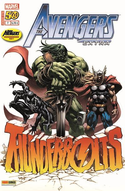 Couverture Avengers Extra tome 7