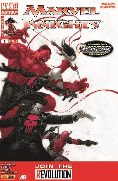 Couverture Marvel Knights tome 9