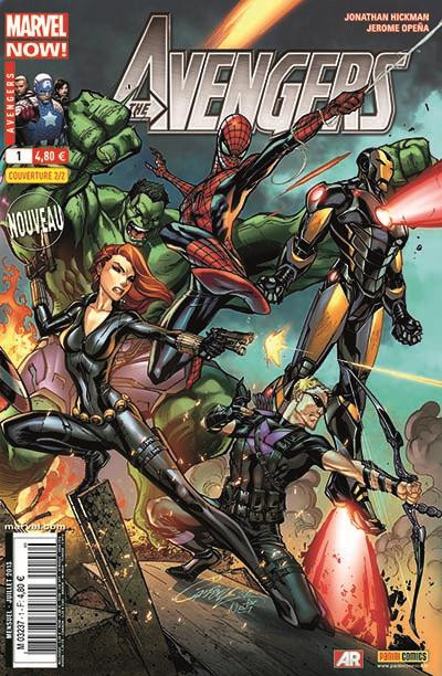 Couverture Avengers 2013 tome 1