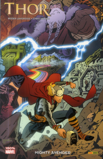 Couverture Thor ; the mighty avenger