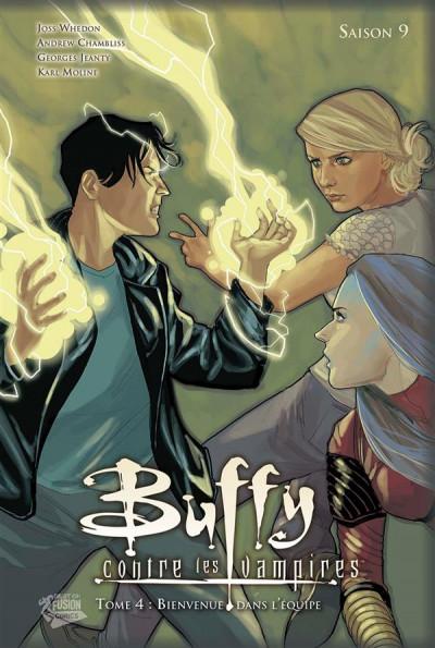 Couverture Buffy contre les vampires - saison 9 tome 4