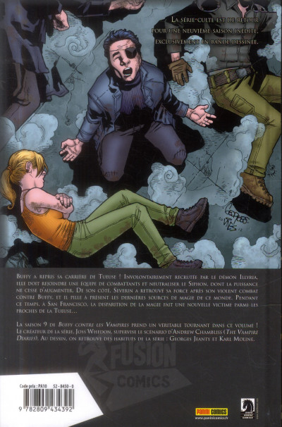 Dos Buffy contre les vampires - saison 9 tome 4