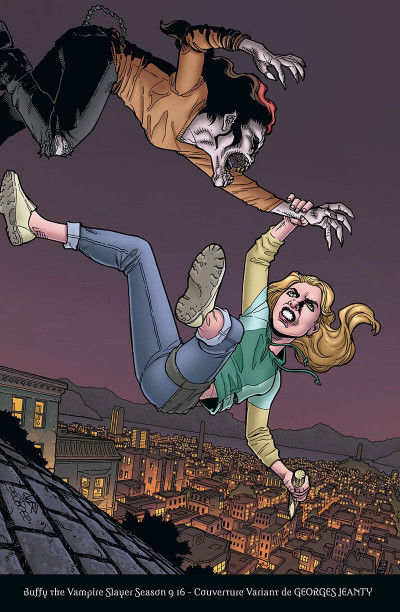 Page 5 Buffy contre les vampires - saison 9 tome 4