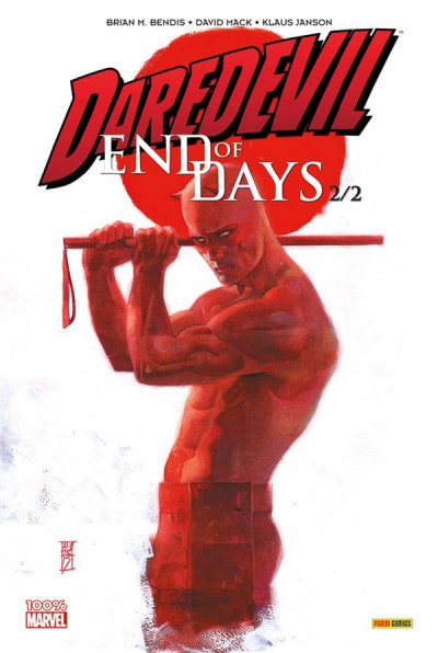 Couverture Daredevil - end of days tome 2