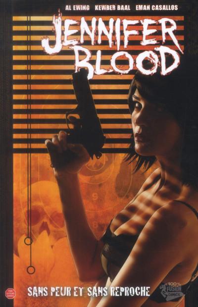 Couverture Jennifer Blood tome 3 - sans peur et sans reproche
