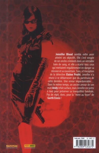 Dos Jennifer Blood tome 3 - sans peur et sans reproche