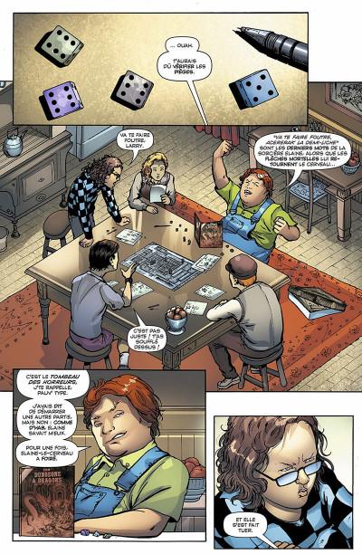 Page 6 Jennifer Blood tome 3 - sans peur et sans reproche