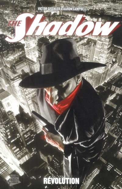 Couverture The Shadow tome 2 - révolution