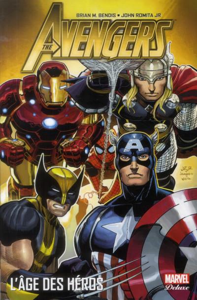 Couverture Avengers - âge des héros tome 1
