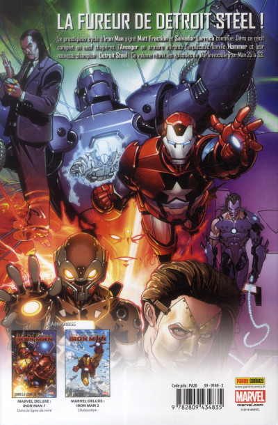 Dos Invincible Iron Man Tome 3