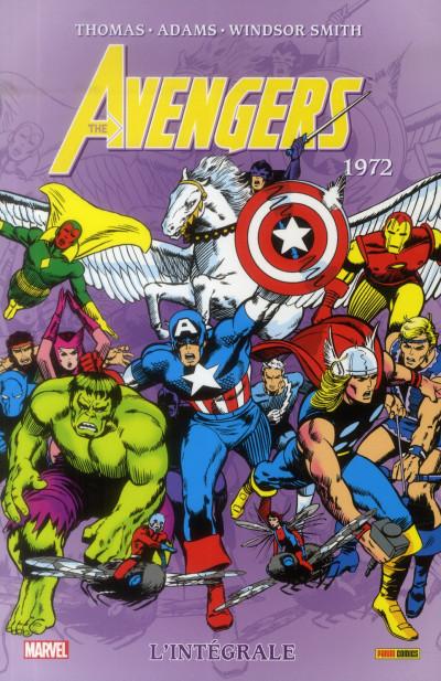 Couverture Avengers - Intégrale 1972