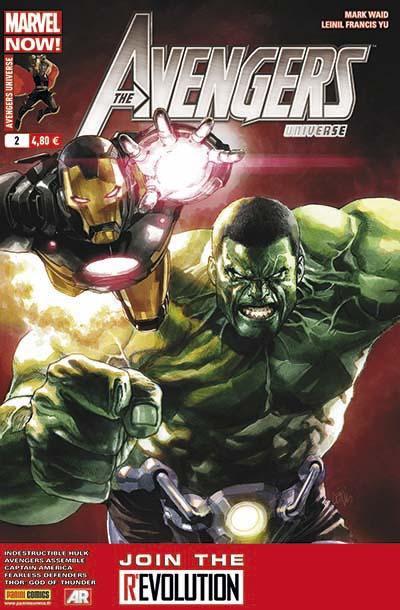Couverture Avengers universe tome 2