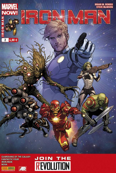 Couverture Iron Man 2013 tome 2