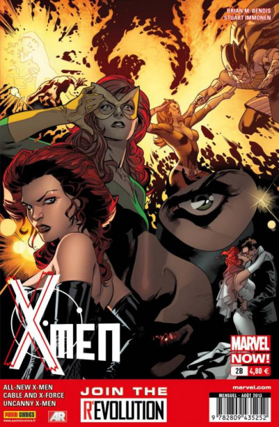 Couverture X-Men 2013 tome 2 - Cover Librairie