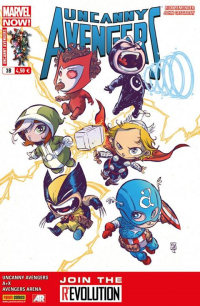 Page b Uncanny Avengers tome 3 Cover Librairie